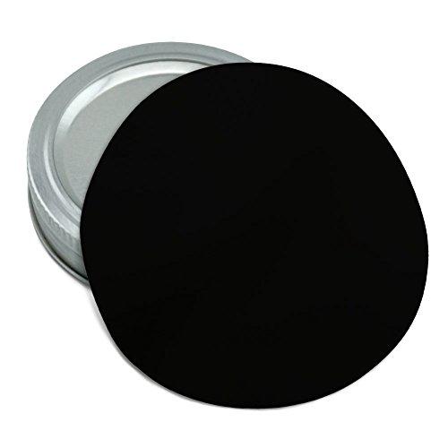 Solid Color Black Round Rubber Non-Slip Jar Gripper Lid Opener