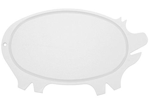 Linden Sweden Daloplast  Pig Cutting Board White
