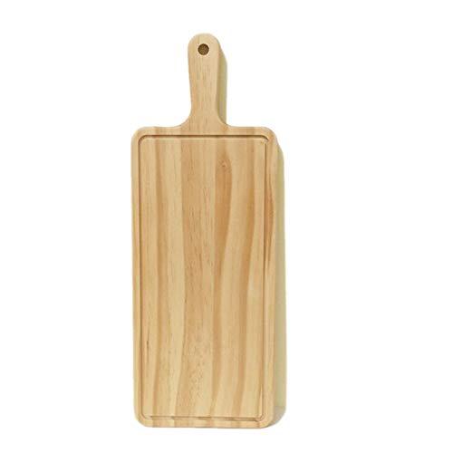 Mandalaa Natural Kitchen Chopping Blocks Bread Pallet with Handle Baking Cutting Board Wooden Board Handmade Kitchen Accessories Wooden Chopping Blocks