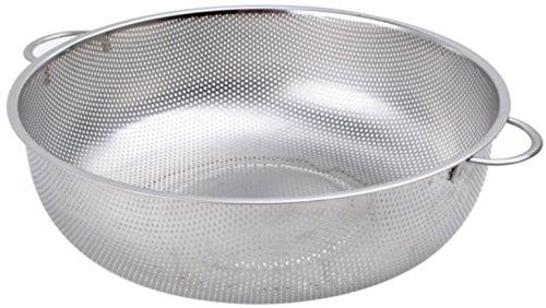5 Quart 11 Stainless Steel Colander Strainer Basket Handles Strain Drain Rinse Steam Cook Vegetables Pasta