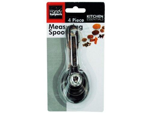 Bulk Buys Metal Measuring Spoon Set - Pack of 72