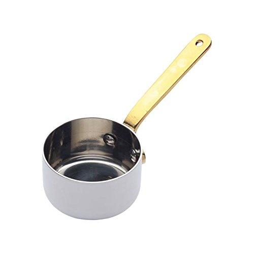 Mini Saucepan - 5cm Diameter Stainless Steel Pack of 2