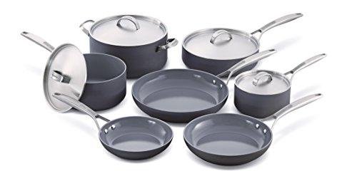 GreenPan Paris Pro 11pc Ceramic Non-Stick Cookware Set