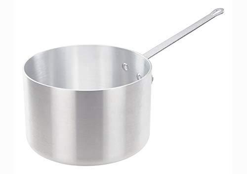 Winco ASP-8SW 85-Quart Tri-Ply Aluminum Sauce Pan WО Lid NSF Saucepan Sauce Pot