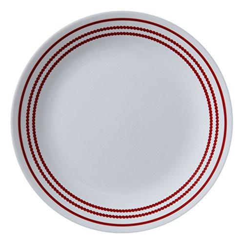 Corelle Livingware 85216cm Plate 6 pack Ruby Red