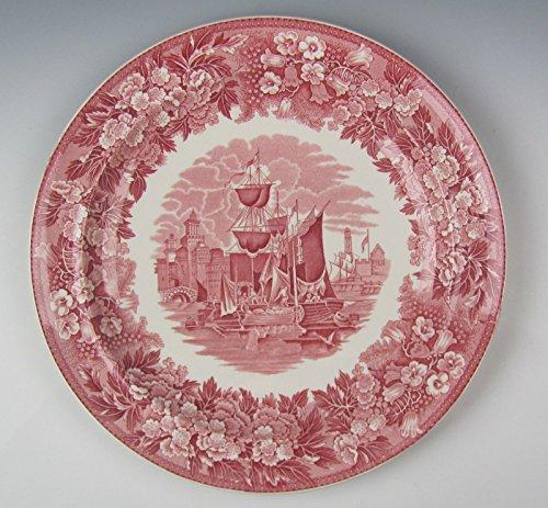 Wedgwood China FERRARA-PINK Dinner Plates VERY GOOD