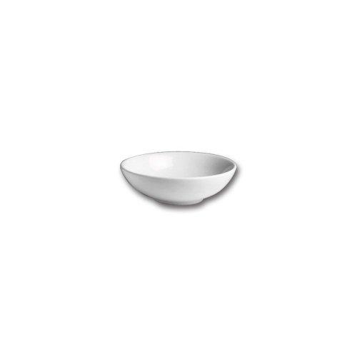 Hall China 12810AWHA White 3 Pint Salad  Pasta Bowl - 12  CS