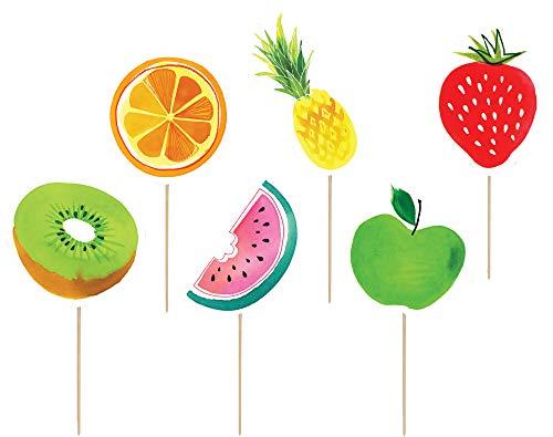 Design Design Tropical Fruit Salad Cupcake Kit
