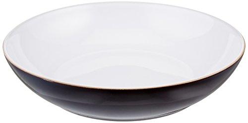 Denby Jet Black Individual Pasta Bowls Set of 4