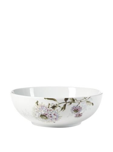Mikasa Silk Floral Lavender Vegetable Serving Bowl 9-Inch