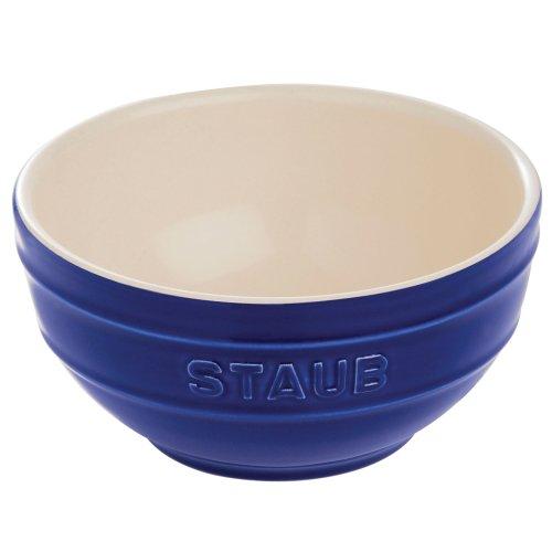 Staub Dinner Bowl Dark Blue 475