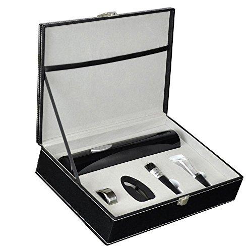 Pawaca Electric Wine Opener Set - Stainless Steel Electric Wine Opener Corkscrew Accessories Gift Packing