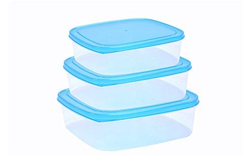 Sina FoodPak Plastic Container Set of 3