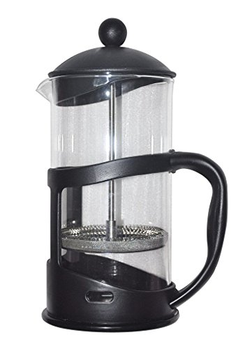 Wowpaige French Coffee Press Maker --8 Cup4 Mug 1 Liter34 Ounce1000 ML Stainless Steel Plunger and Borosilicate Glass Cafetiere Espresso