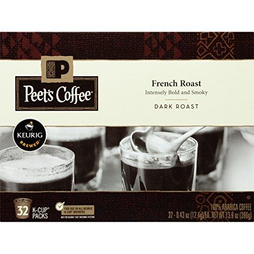 Peets Coffee French Roast Dark Roast 32ct K-Cup Packs