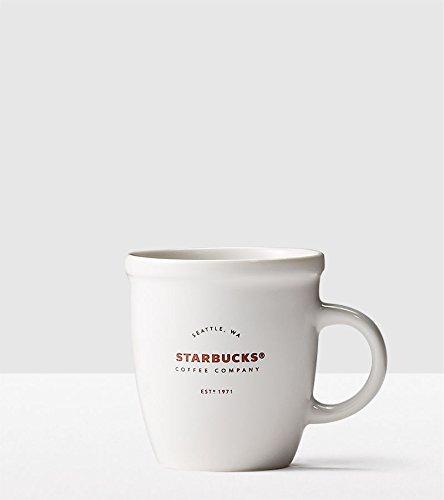 Starbucks Classic White Abbey Demi Espresso Mug 3 OZ