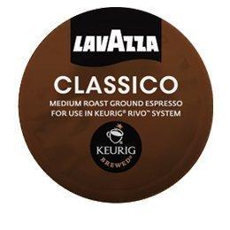 LAVAZZA ESPRESSO CLASSICO 108 PACKS 6 Boxes for KEURIG RIVO R500