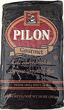 Cafe Pilon Decaffeinated Espresso Coffee 10 Oz