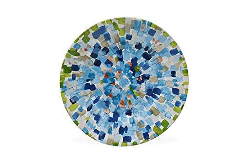 222 Fifth Solena Blue Dinnerware Sets Salad Plates