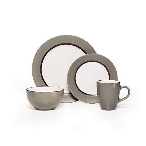 Pfaltzgraff Grayson 16-Piece Stoneware Dinnerware Set Service for 4