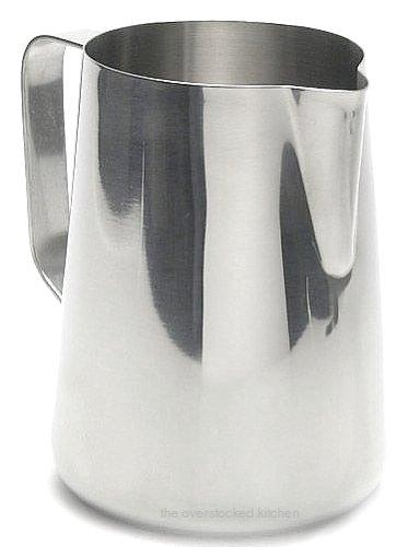 33 oz Espresso Coffee Milk Frothing Pitcher Stainless Steel 1810 Gauge