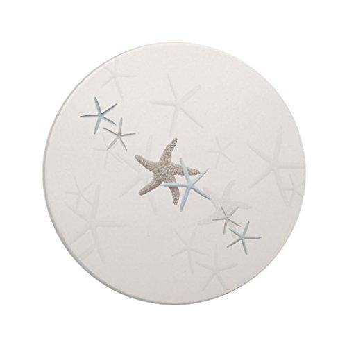 Zazzle Starfish White Drink Coaster