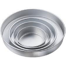 Round Cake Pan Set 5-7-9-11