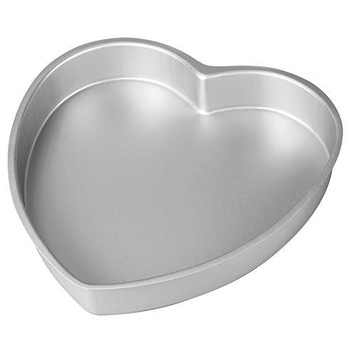 Wilton Aluminum Heart Shaped Cake Pan 8 inch