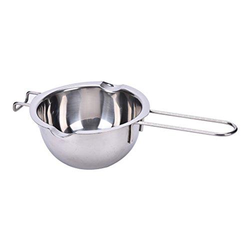 JiaUfmi Stainless Steel Double Boiler Chocolate Butter Melting Pot Universal Insert Baking Tools