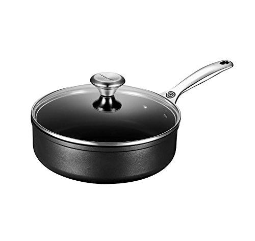 Le Creuset of America Toughened NonStick Saute Pan with Lid 325 quart