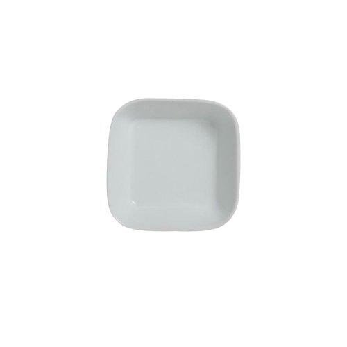 Steelite 6900E568 Cafe Porcelain 5-12 Oz Square Ramekin - 36  CS