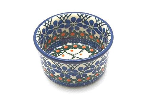 Polish Pottery Ramekin - Primrose