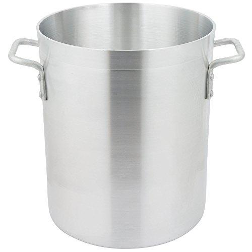 Standard Weight Aluminum Stock Pot Size 24 Qt