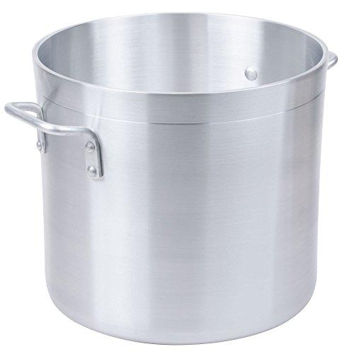Standard Weight Aluminum Stock Pot Size 32 Qt