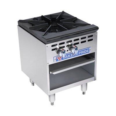Bakers Pride BPSP-18-3D Gas 2 Unit 3 Valve Stock Pot Range