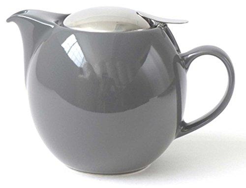 Bee House 26oz Teapot Steel Grey