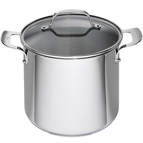 Emeril Lagasse 62959 Stainless Steel Stock Pot 8-Quart Silver