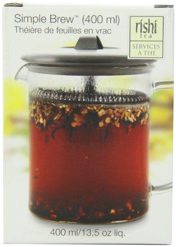 Rishi Tea Simple Brew Loose Leaf Teapot 135 Ounces 400ml