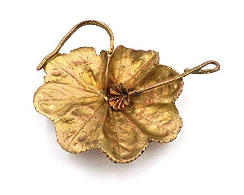 Ladys Mantle Leaf Salt Dish by Michael Michaud for Silver Seasons Table Art