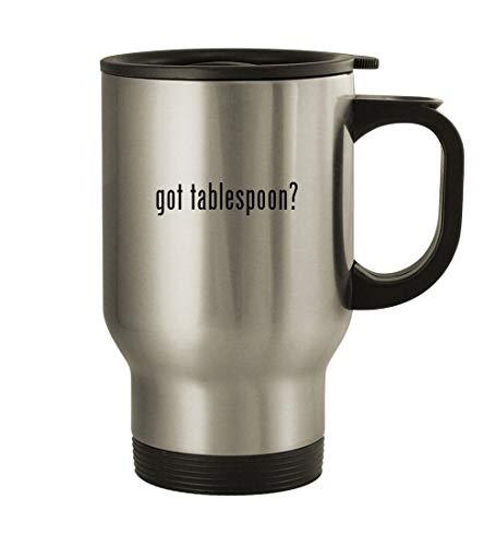 got tablespoon - 14oz Stainless Steel Travel Mug Silver