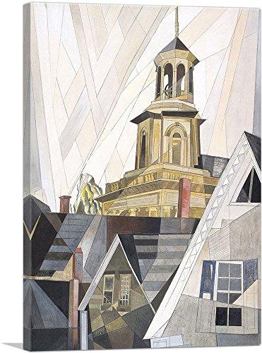 ARTCANVAS After Sir Christopher Wren 1920 Canvas Art Print by Charles Demuth - 60 x 40 150 Deep