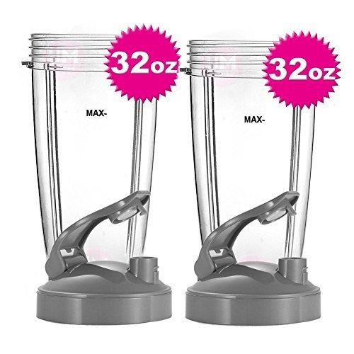 32oz Oversized Cup Set for Nutribullet 600W 900WReplacement Parts for Nutribullet