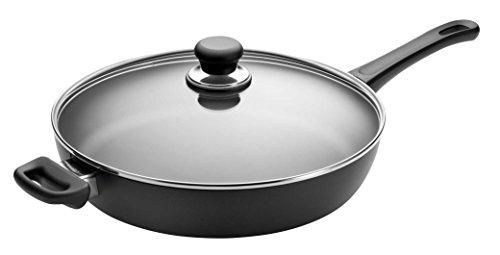 SCANPAN USA Inc Classic Saute Pan 425 quarts Black