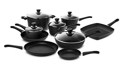 Scanpan Classic Cookware Set 14 piece with Stratanium Nonstick