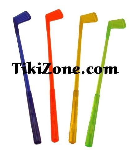 16 Golf Club Swizzle Stir Sticks
