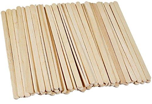 KINGZHUO 200 Pcs 75 Wood Disposable Coffee Stir Sticks Stirrers Tea Beverage Stir Stick Stirrer
