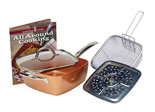 Copper Chef 11 XL Cookware set 5 Pc