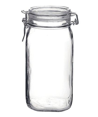 Bormioli Rocco Fido Glass Canning Jar Italian - 15 Liter