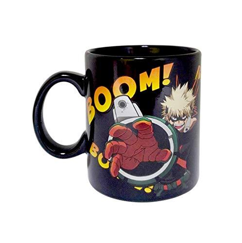 My Hero Academia Heat Changing Black Coffee Mug 16 oz