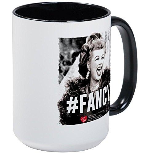 CafePress I Love Lucy Fancy Coffee Mug Large 15 oz White Coffee Cup